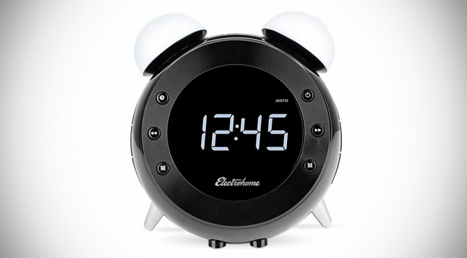 Retro Alarm Clock Radio by Electrohome