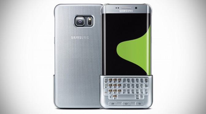 Samsung Keyboard Cover Will Turn Galaxy S6 edge+ and Note 5 into a Blackberry-like Device
