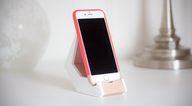 TILT Smartphone Stand: Simple, Elegant and Functional. It's Almost Like Art.
