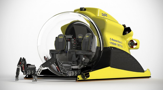 U-Boat Worx Launches World's First 3-person Submarine Capable of Diving to 5,600 Feet