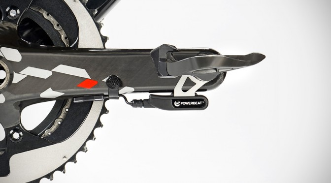 $499 Watteam PowerBeat Bicycle Power Meter Measures Left and Right, Fits on Any Crankset