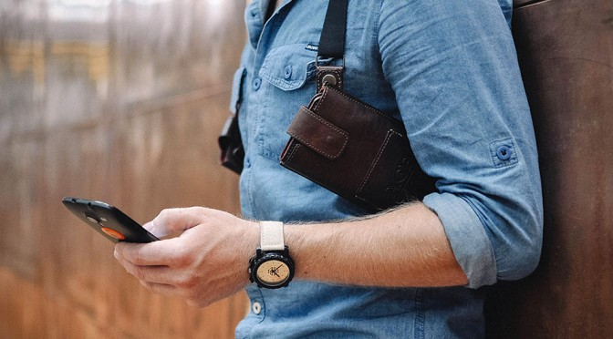 Phonster Lets You Stow Away Your Phone and Wallet Like a Detective