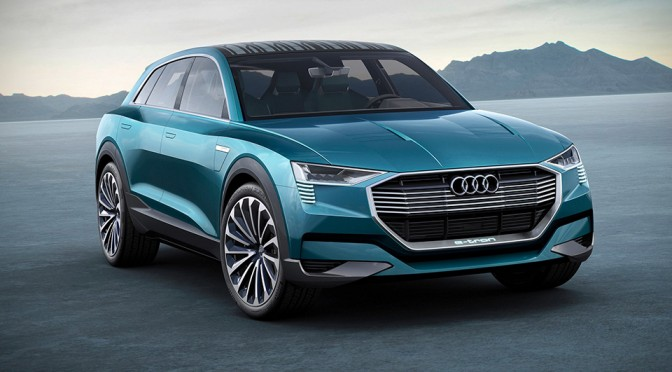 Audi e-tron Quattro Concept Has 496HP, Makes 0-100 in Just 4.6 Seconds