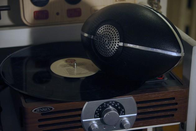 B.R.O. Ball Football Bluetooth Speaker by Invincible Audio