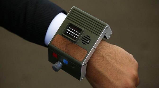Forget About Smartwatches, This is How a Wrist-worn Communicator Should Look Like