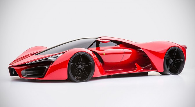 Ferrari F80 Supercar: a Stunningly Beautiful Concept That's Not a Product of Ferrari Design Studio