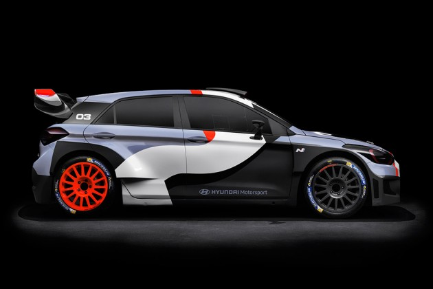 Hyundai New Generation i20 WRC Rally Car