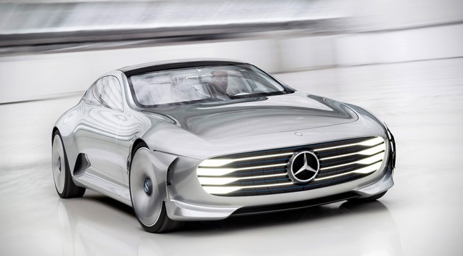 This is Concept IAA, Mercedes-Benz's Super Sexy Real-life Transformers Car