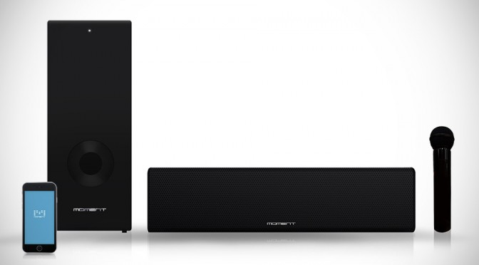 Moment is an All-in-One Soundbar That Has Your Crooning Needs Covered Too