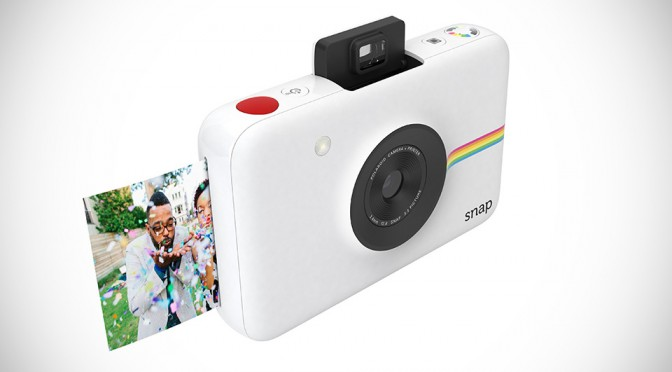 Polaroid's New Snap Instant Digital Camera Prints Instantly without Ink as You Shoot, Cost Just 99 Bucks