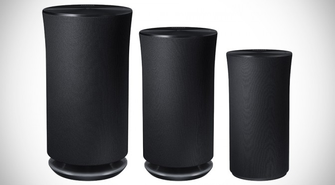 Samsung R Series Wireless Audio 360 Speakers