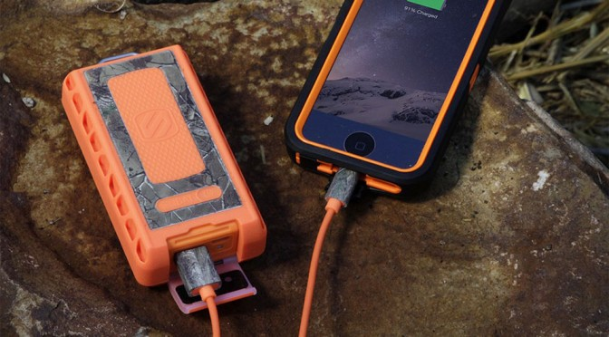 Scosche goBAT 6000 Rugged Portable Backup Battery Realtree Edition