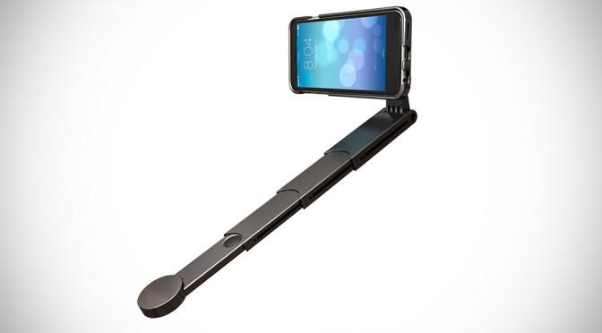 SnapStyk Selfie Stick Smartphone Case