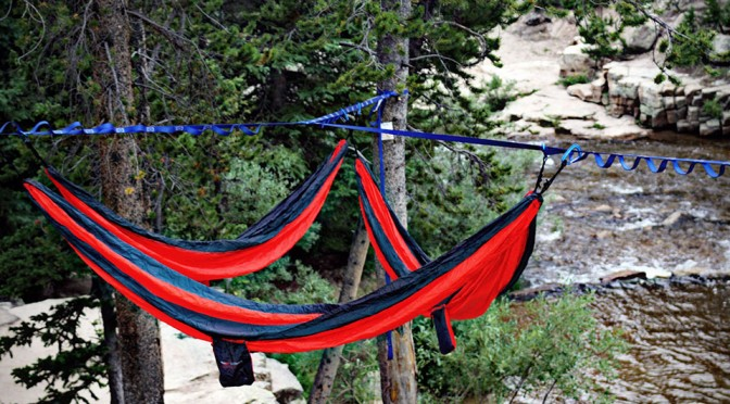 Tree-O Frame Lets You Hook Up 3 Hammocks, Gives Hanging Out Together a Whole New Meaning