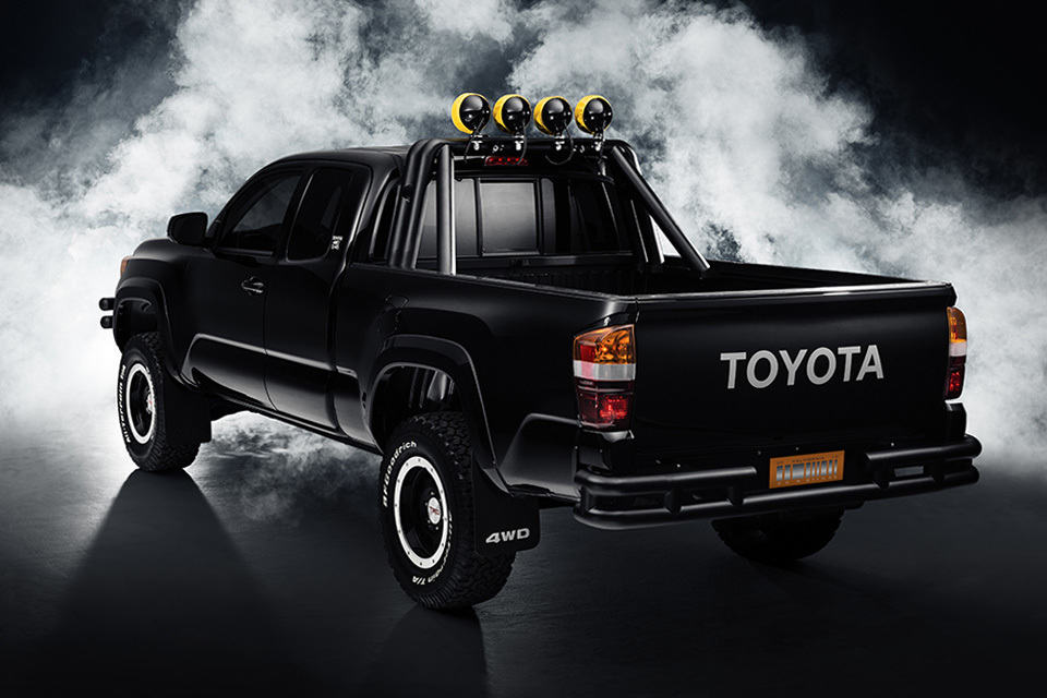 Marty Mcfly S 1985 Dream Pickup Truck Reimagined By Toyota
