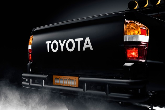 """Toyota """"Back to the Future"""" Tacoma Concept Pickup Truck"""