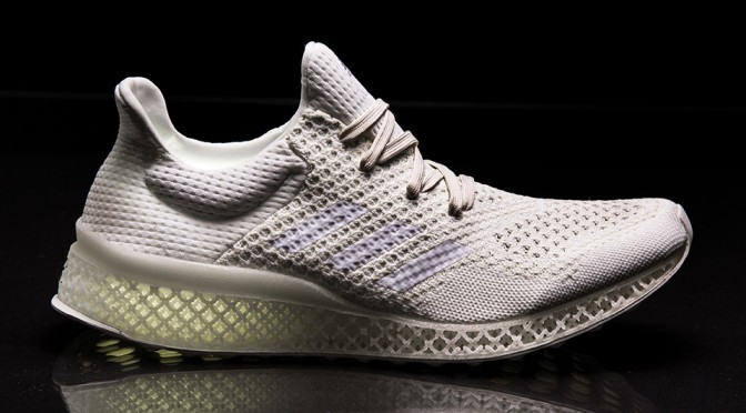 Adidas Steps Into the Future with 3D Printed Custom Midsole Footwear