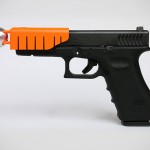 This Handgun Clip-on Attachment Will Put a Brake on a Fired Bullet