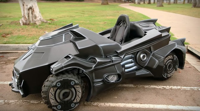 Arkham Knight Batmobile Super Gamer Builds