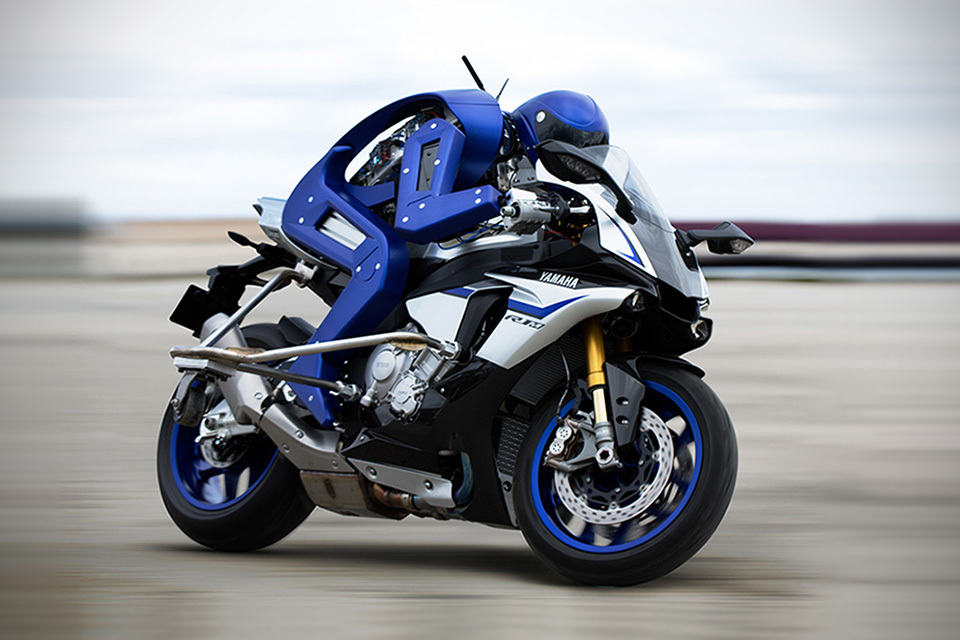 yamaha motor developed a humanoid that rides a super bike. Black Bedroom Furniture Sets. Home Design Ideas