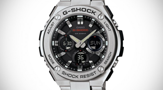 Casio G-SHOCK G-STEEL Watches