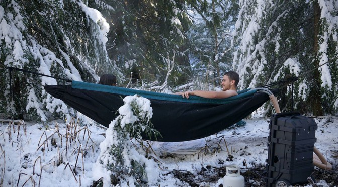 HydroHammock is the Perfect Marriage Between a Hot Tub and a Hammock. Period.