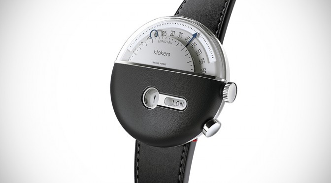 "Klokers KLOK-02 ""Time Travelling"" Wrist Watch"
