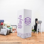 Layla Sleep is a True Bed-in-a-Box That Comes Complete with Bed Stand Made Out of Cardboard