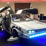 A Bunch of Folks Actually Ate a Life-size Flying DeLorean Time Machine!
