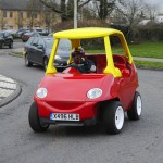 """Grown Ups' Road-legal """"Little Tikes"""" Car is Up for Sale on eBay"""