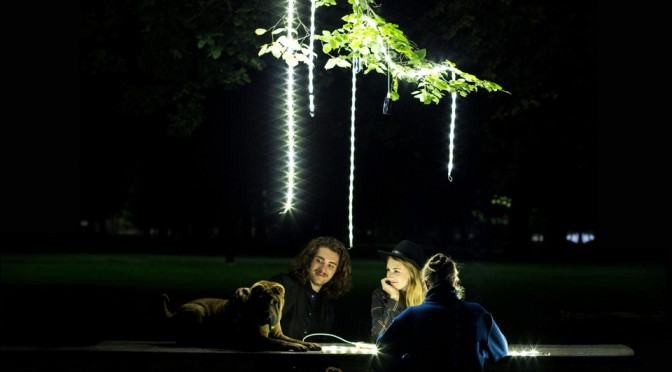Lantern Reimagined, Turned into a flexible 5-foot Light Strand That's Still as Portable as a Lantern