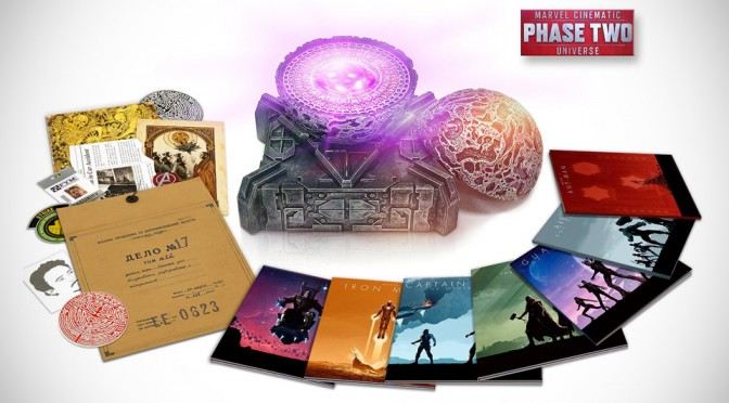 13-Disc Marvel Phase 2 Blu-ray Box Set is Loaded with Goodies, Including One of the Much-vied Infinity Stones