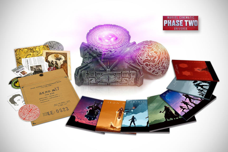 13 disc marvel phase 2 blu ray box set is loaded with goodies