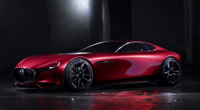 Mazda Wants to Keep Rotary Engine Alive with RX-VISION Concept