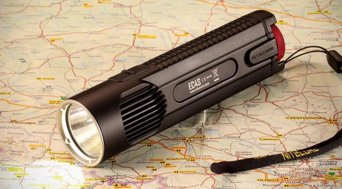 NITECORE EC4S: 2150 Lumens Flashlight That Fits in the Palm of Your Hand
