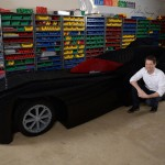 The World's Biggest LEGO Batmobile Measures an Incredible 18 Feet Long