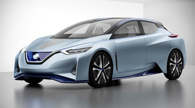 Nissan IDS Concept Autonomous Electric Vehicle
