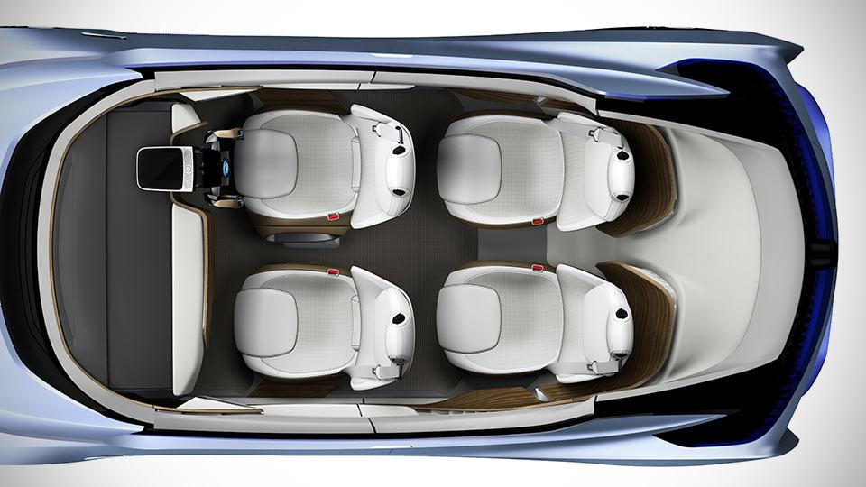 Nissan unveils self driving electric car with transforming nissan ids concept autonomous electric vehicle solutioingenieria Choice Image