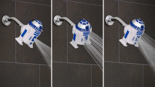 Oxygenics Star Wars R2-D2 Showerhead