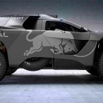 2016 Peugeot Dakar Rally Car is Bigger, Lower, More Powerful, and Post-apocalyptic-looking
