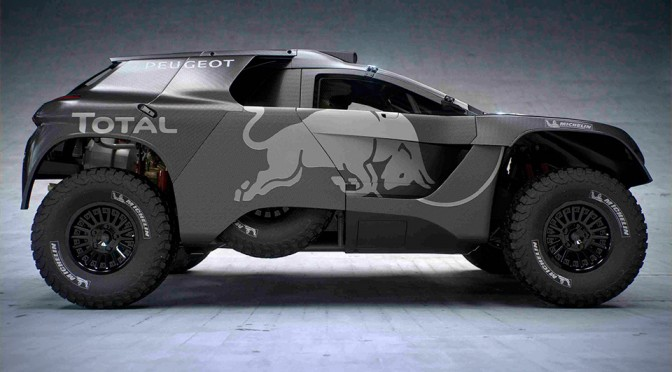2016 Peugeot 2008 DKR16 Dakar Rally Car