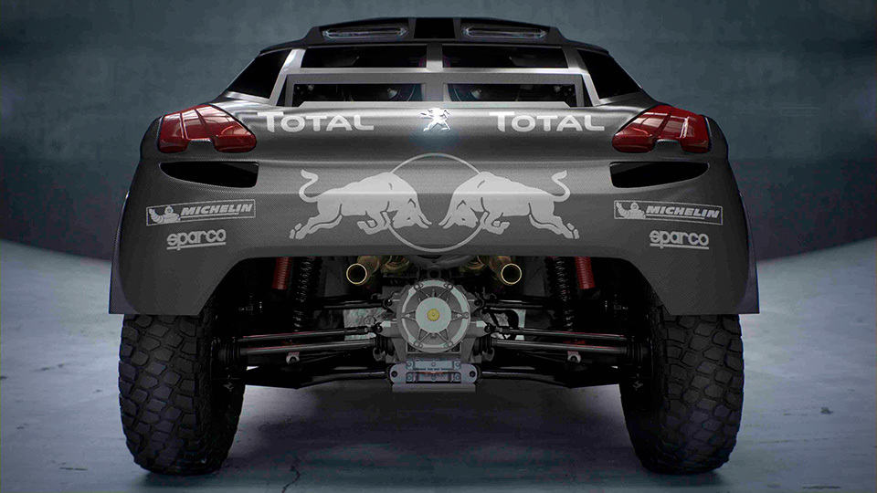 2016 Peugeot Dakar Rally Car is Bigger, Lower, More Powerful, and ...