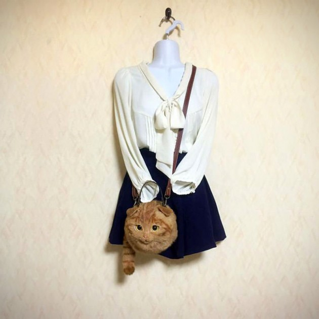 Pico Handmade Cat Shoulder Bag