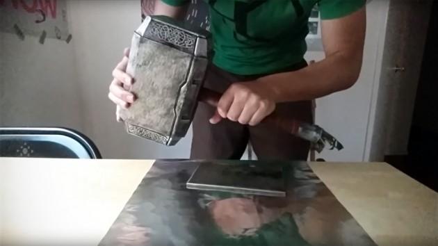 Real Mjolnir by Allen Pan