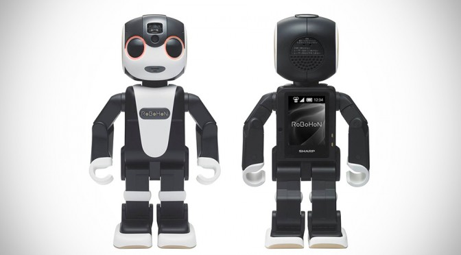 RoBoHon is a Walking, Talking, Pico-projecting Robot That's Also an Android Smartphone