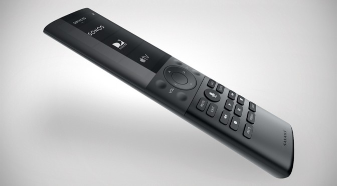 Savant Remote: a Uber Sleek Universal Remote For Both Home Entertainment and Home Automation