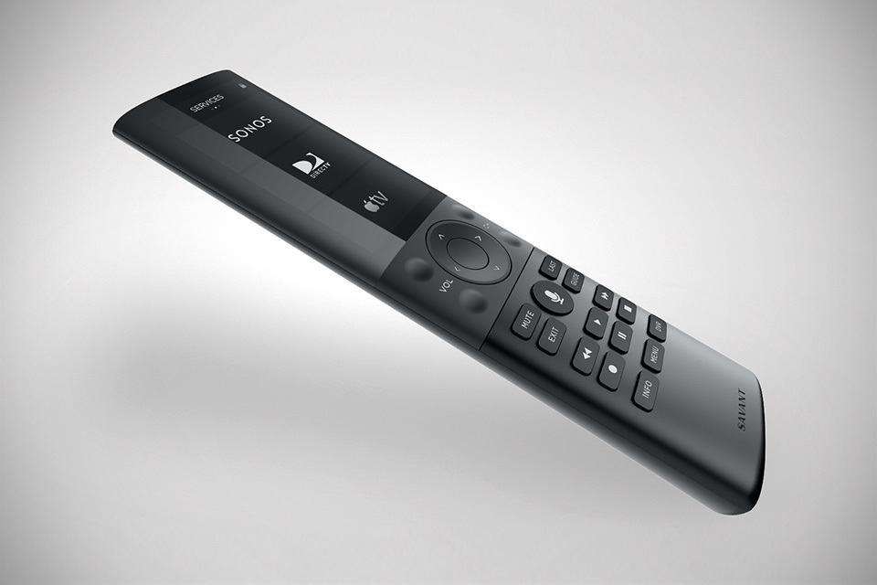 Savant Remote A Uber Sleek Universal Remote For Both Home