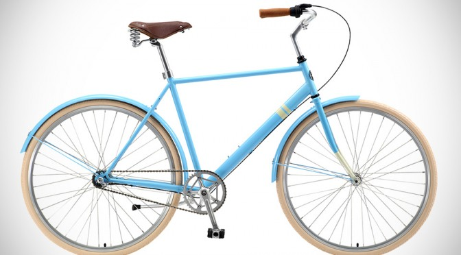 Solé Bicycles Three Speed City Cruiser is as Minimalistic and Stylish as a Bicycle Can Gets