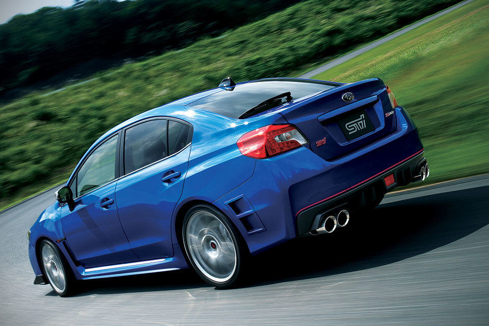 Subaru Introduces Impreza 5 Door Concept And 364hp Wrx Sti