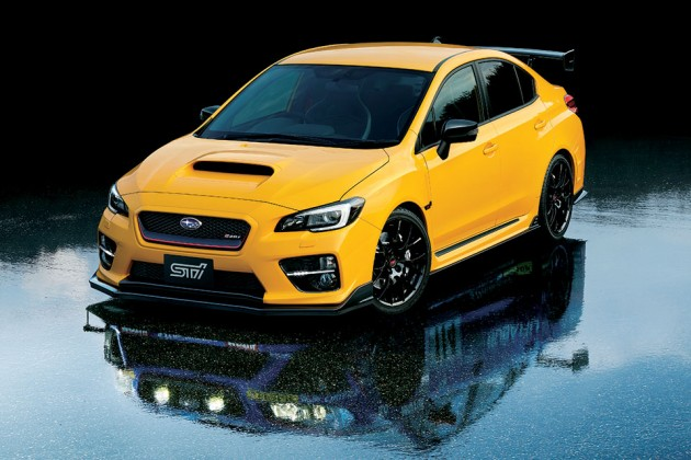 Subaru WRX STI S207 NBR Challenge Package Yellow Edition
